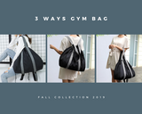 3 Ways Gym Bag Black