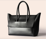 Black leather tote - Ms.Little's Bag   - 2
