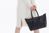 Black leather tote - Ms.Little's Bag   - 6