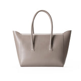 Taupe Leather Tote - Ms.Little's Bag   - 2