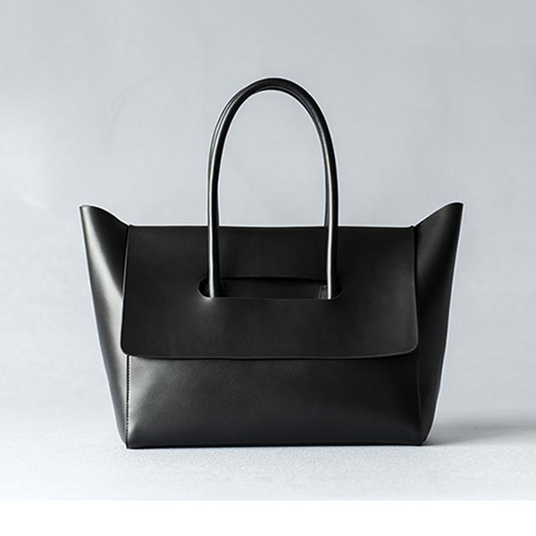 Black leather tote - Ms.Little's Bag   - 1