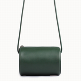 Cylinder Sling Leather Bag-Green - Ms.Little's Bag   - 2