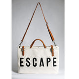 Escape Canvas Tote Bag