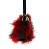 Little Monster Bag with Red Fur - Ms.Little's Bag   - 4