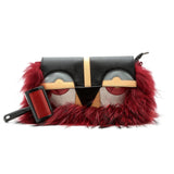 Little Monster Bag with Red Fur - Ms.Little's Bag   - 1