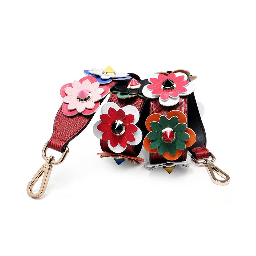 Floral Shoulder Strap for Handbag