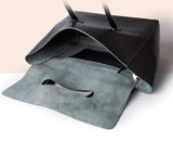 Black leather tote - Ms.Little's Bag   - 5