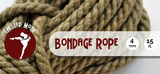Single Bondage Rope - 4mm