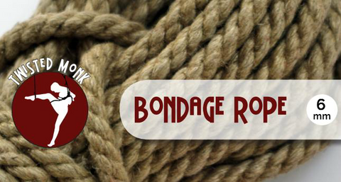 Single Bondage Rope - 6mm