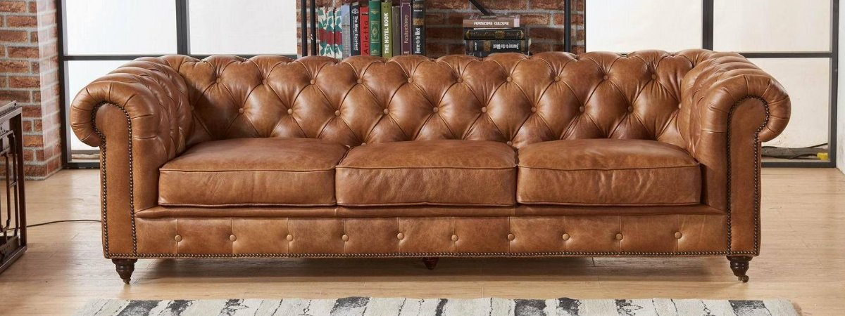 Shop All Leather Sofas, Love Seats, Arm Chairs and More