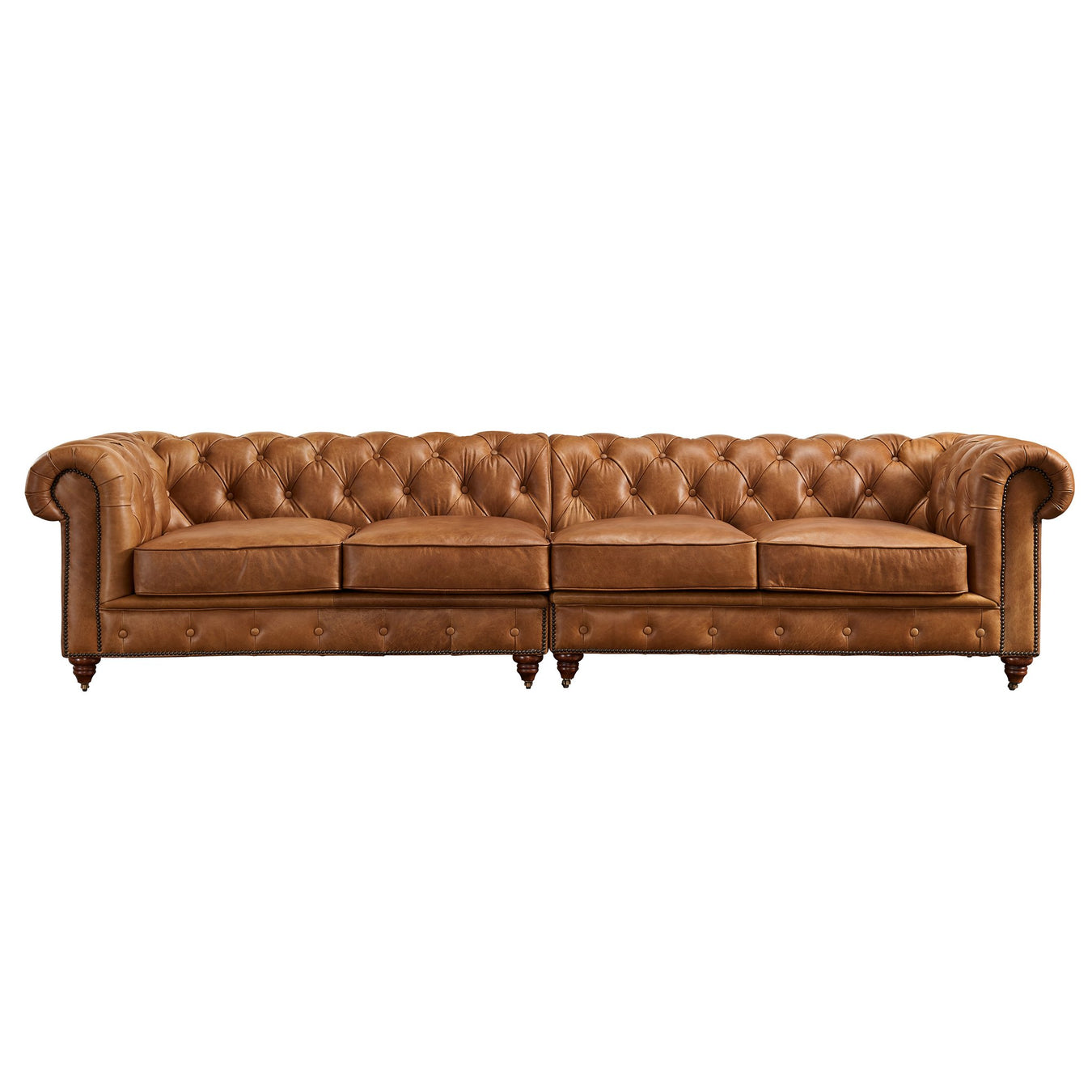 "118"" Century Chesterfield Sofas"