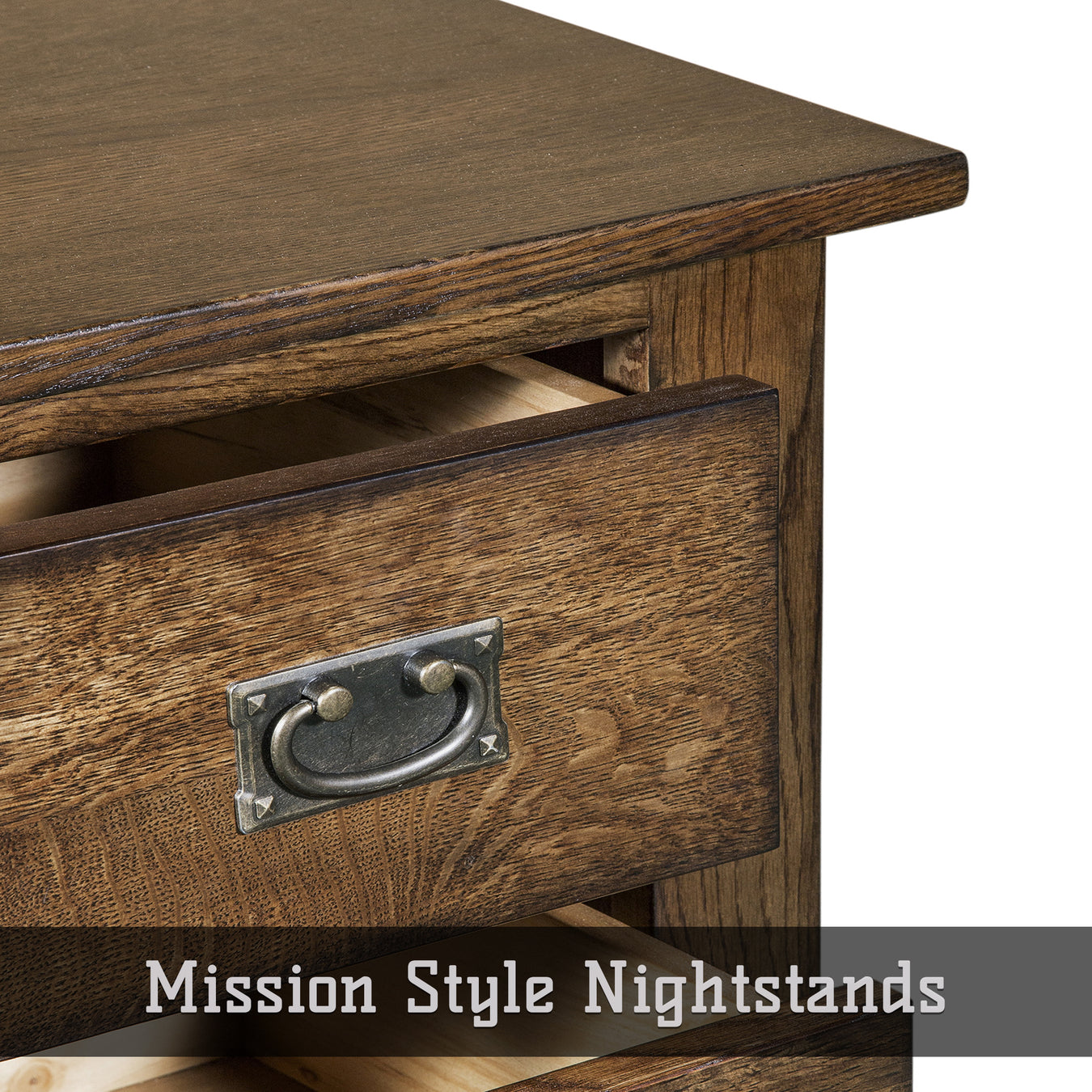 Mission Style Nightstands & Bedside Tables
