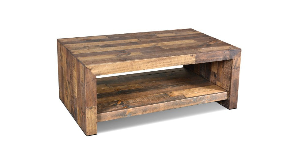 Reclaimed Wood Style Coffee Tables