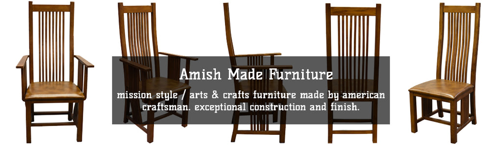 Amish Made Mission Style Furniture