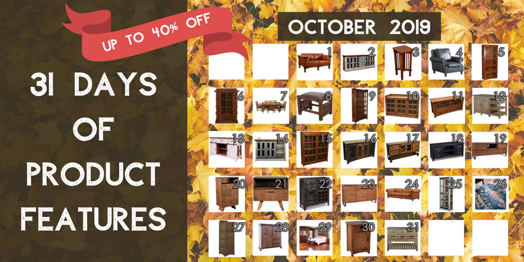 Crafters and Weavers Furniture Product Features October