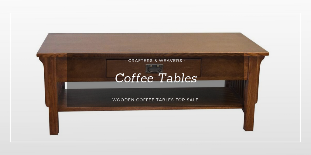 Coffee Tables from Crafters and Weavers