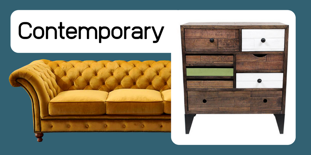 Contemporary furniture from Crafters and Weavers