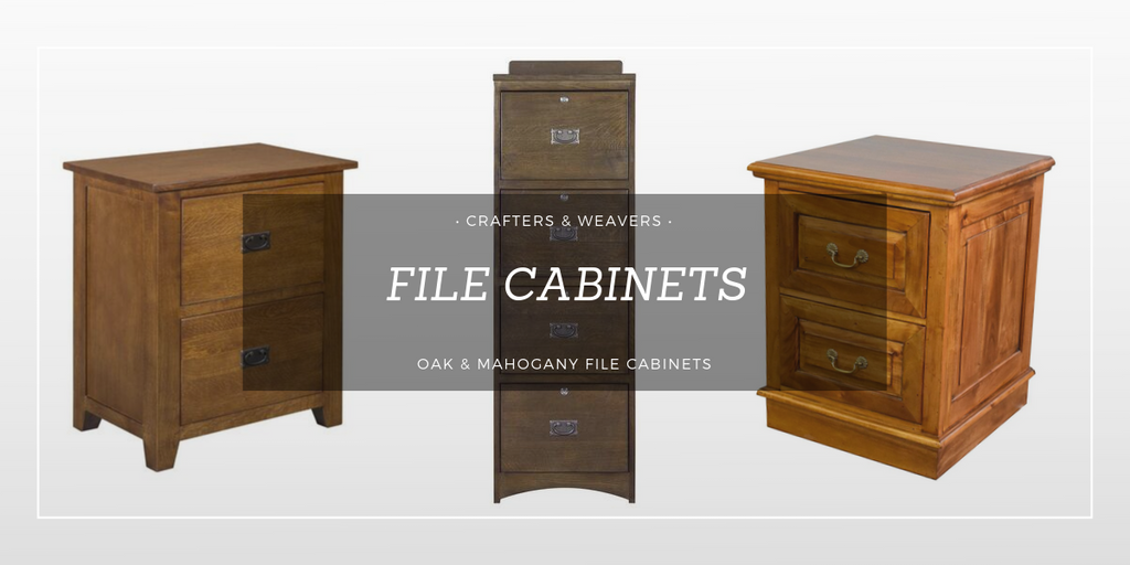 File Cabinets from Crafters and Weavers
