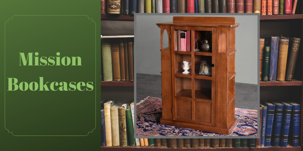 Mission Bookcases from Crafters and Weavers