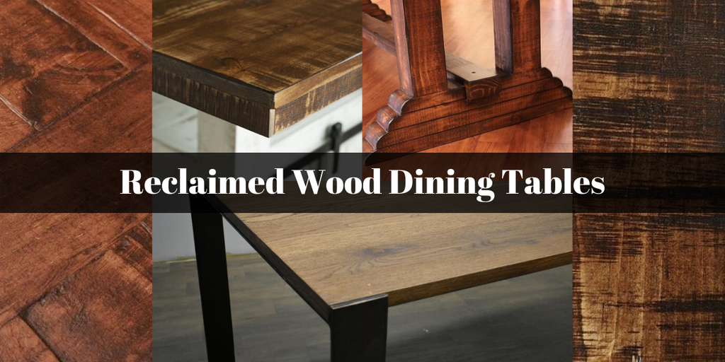 Reclaimed Wood Dining Tables from Crafters and Weavers