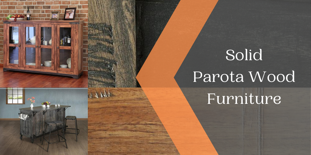 Solid Parota Wood Furniture from Crafters and Weavers