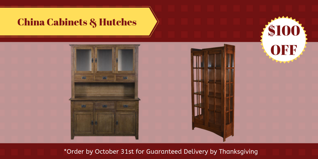China Cabinets and Hutches from Crafters and Weavers