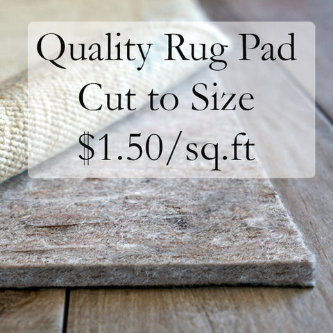 Custom Rug Pads Cut to size in Oak Park, IL / Chicago, IL