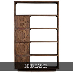 Shop All Bookcases from Crafters and Weavers