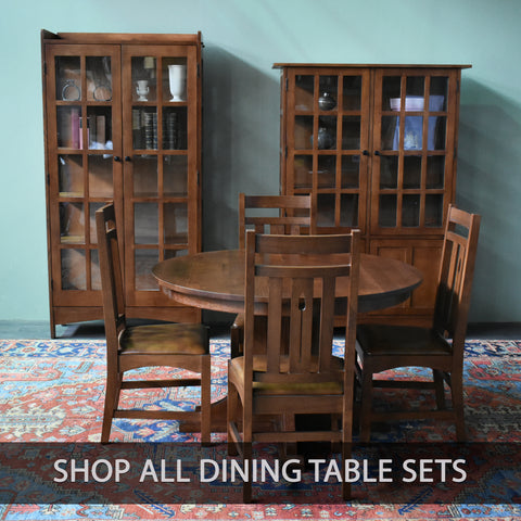 Shop All Solid Wood Dining Table Sets from Crafters and Weavers
