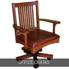 Shop all office chairs by Crafters and Weavers