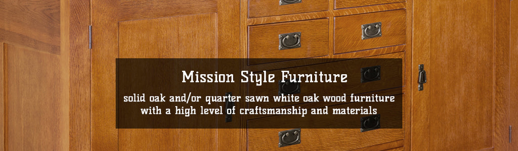 Solid Oak Mission Style / Arts & Crafts Furniture