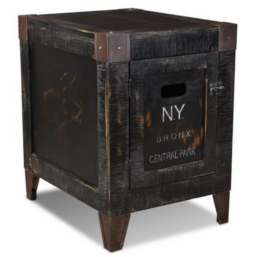 City 1 Door End Table - New York - Crafters and Weavers