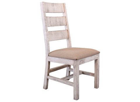 Bayshore Distressed White Dining Chair #1022