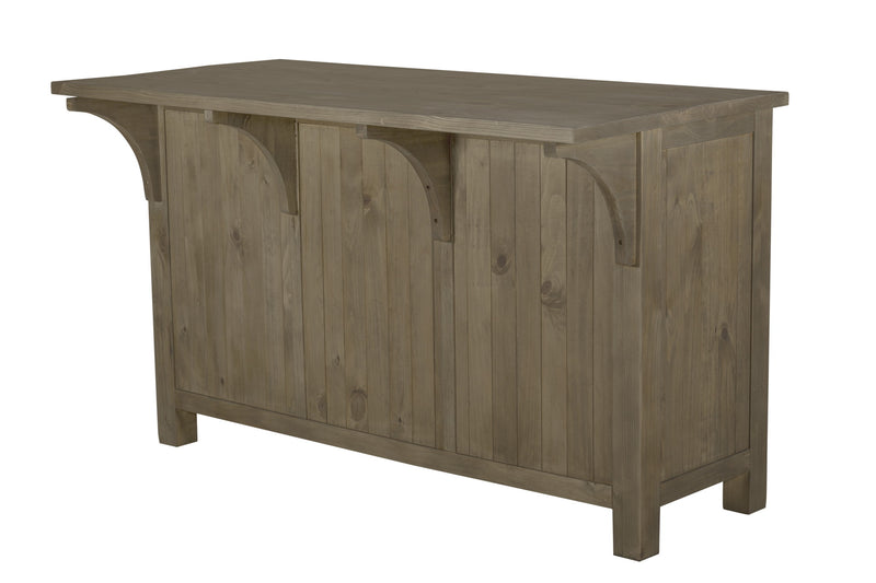 Elmwood Park Kitchen Island with Removable Crates
