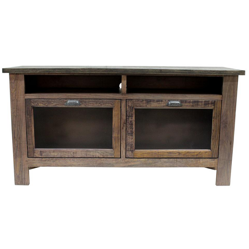 "Emerson 60"" TV Stand - Rustic Walnut"