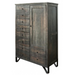 Sawyer Parota Wood Armoire / Dresser - Crafters and Weavers