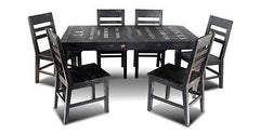 City 66 in Dining Table - Crafters & Weavers - 1