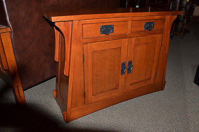 Arts and Crafts / Mission Crofter Style Entry Cabinet - Crafters & Weavers - 1
