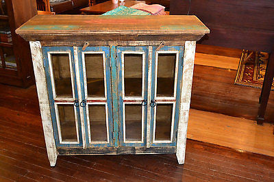 La Boca 4 Door Cabinet - Crafters & Weavers - 5
