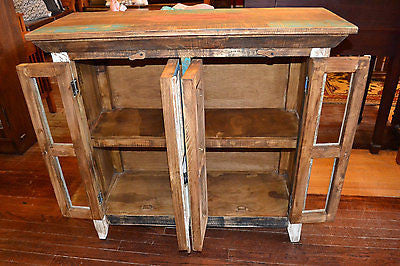 La Boca 4 Door Cabinet - Crafters & Weavers - 2