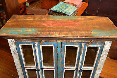 La Boca 4 Door Cabinet - Crafters & Weavers - 4