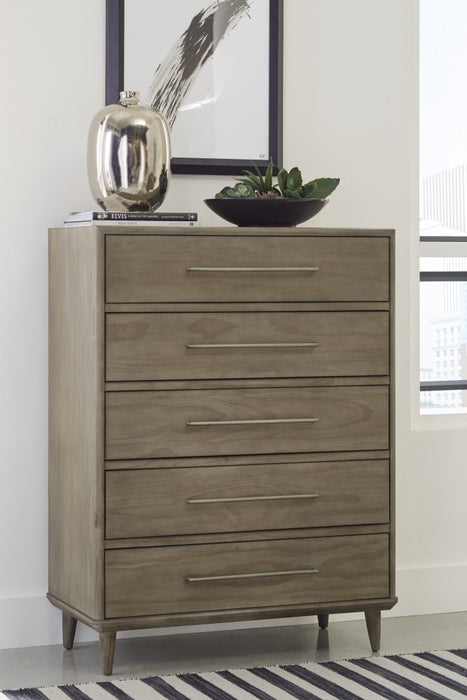 Windsor Sandstone 5 Drawer Dresser