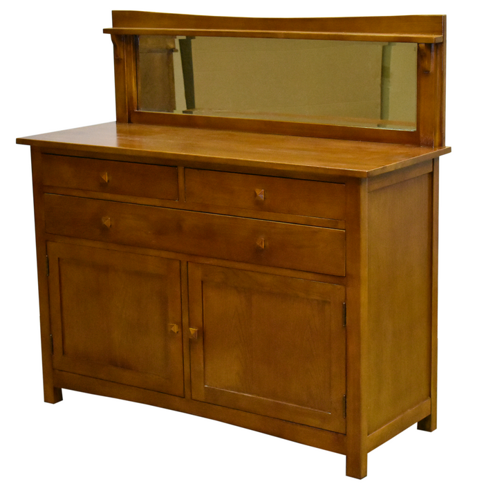 Mission Buffet Cabinet with Mirror - Michael's Cherry - 50""