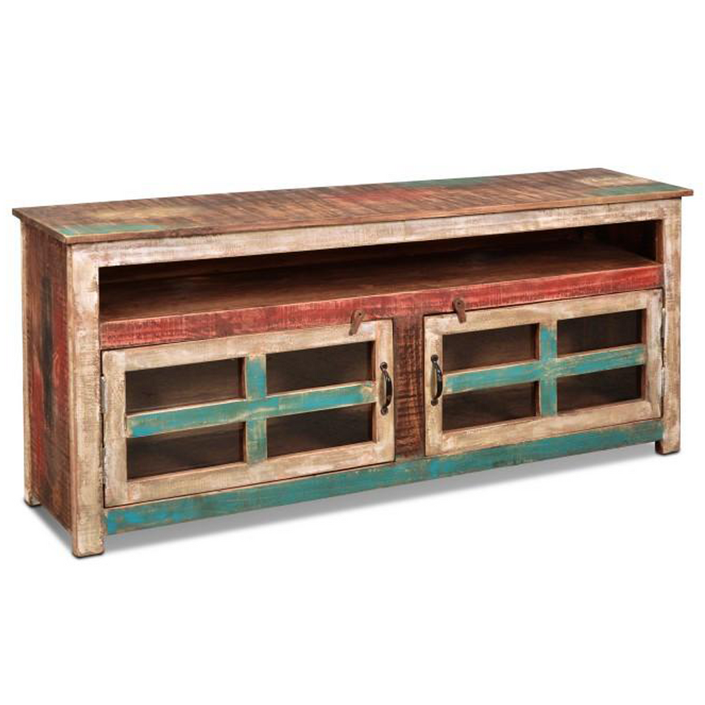 La Boca Glass Door TV Stand - 65""