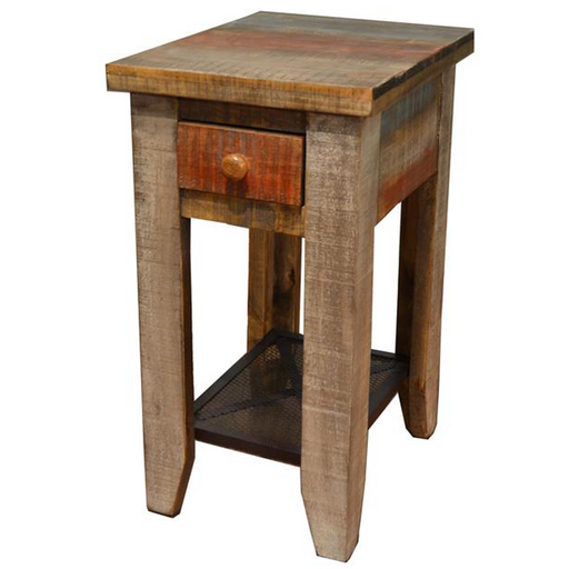 Bayshore Loft Side Table - Crafters and Weavers