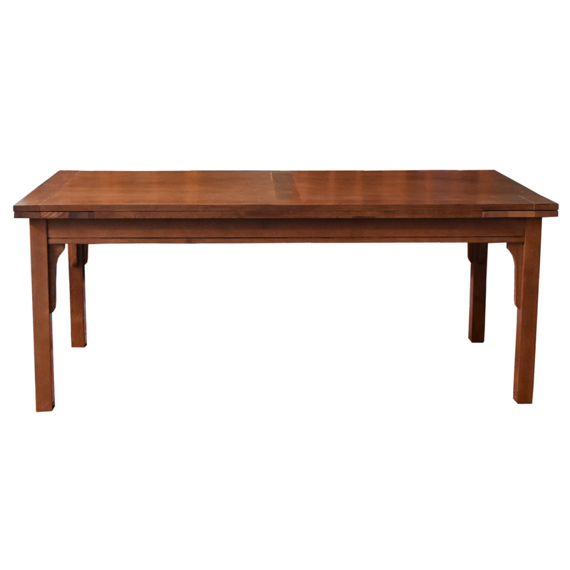 Mission Quarter Sawn White Oak Crofter Style Console Table