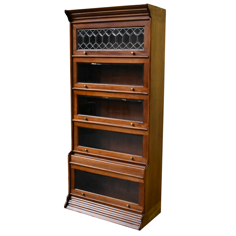 Legacy Open Bookcase - Brown Walnut