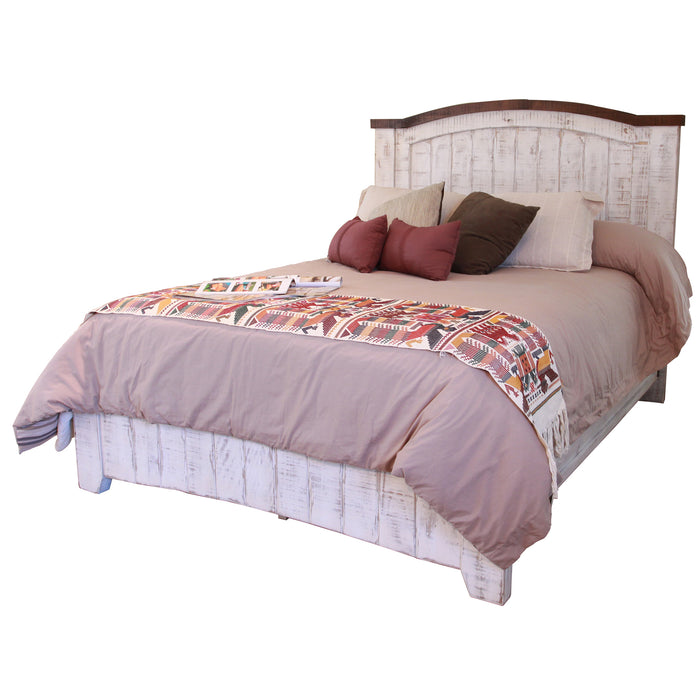 Greenview Farmhouse Bed Frame - White