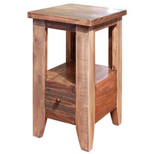 Bayshore 1 Drawer Side Table - Crafters and Weavers