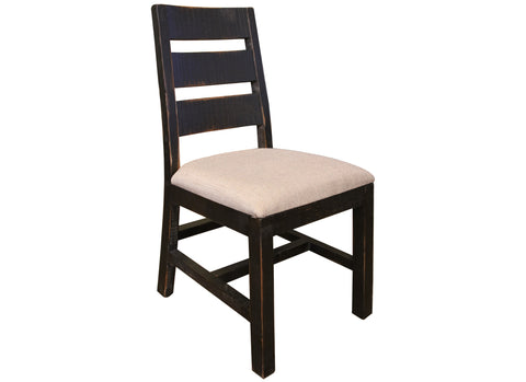 Bayshore Distressed Black Dining Chair #370